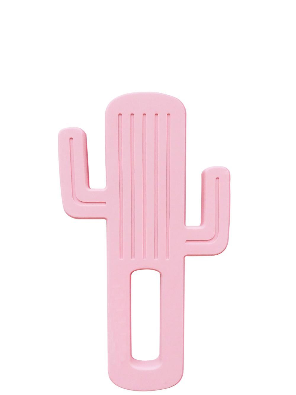 MINIKOIOI Gryzak silikonowy Kaktus RÓŻOWY