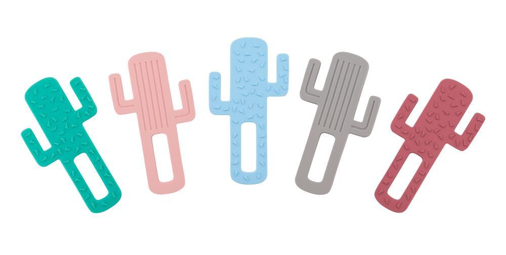 MINIKOIOI Gryzak silikonowy Kaktus RÓŻANY