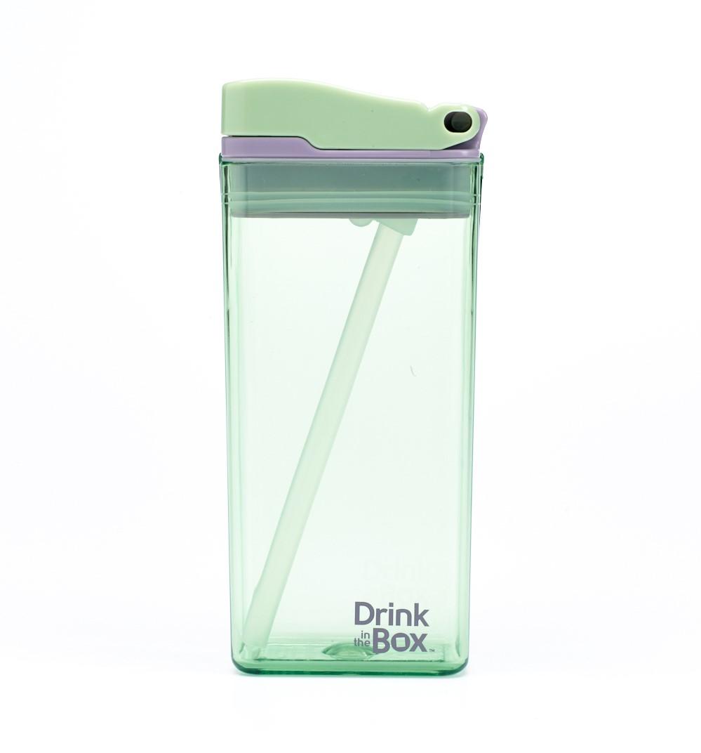 DRINK IN THE BOX MODERN Bidon ze słomką MIĘTOWY 350 ml