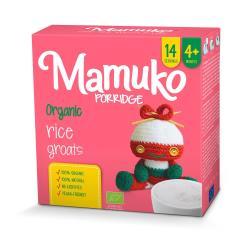 MAMUKO Organiczna kaszka ryżowa 4m+